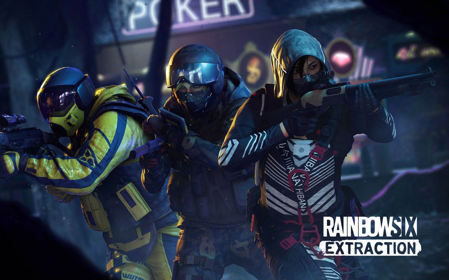 Free Rainbow Six Extraction Wallpaper in 1440x900