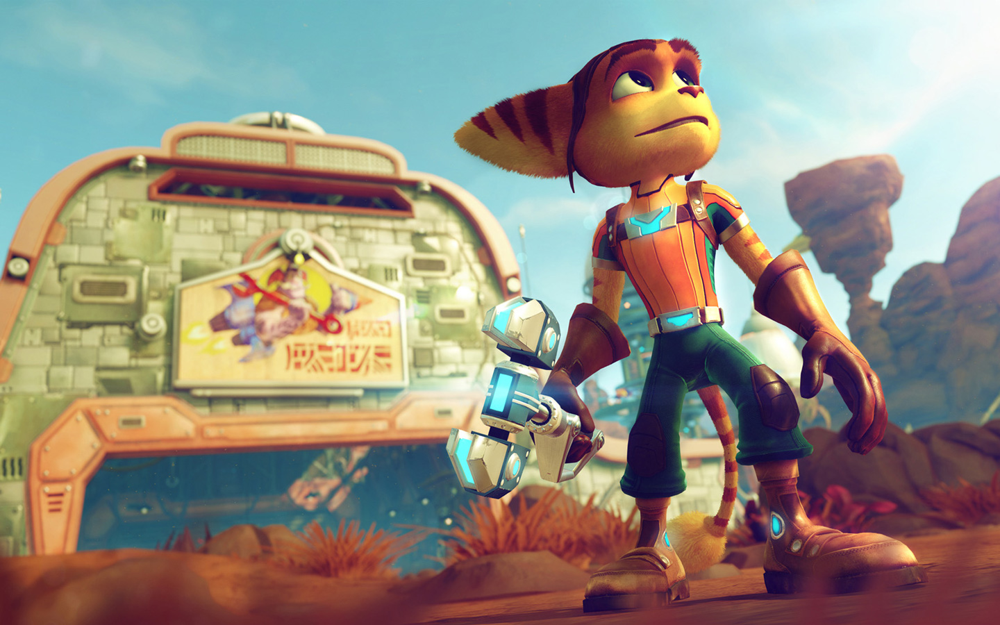 Free Ratchet & Clank Wallpaper in 1440x900
