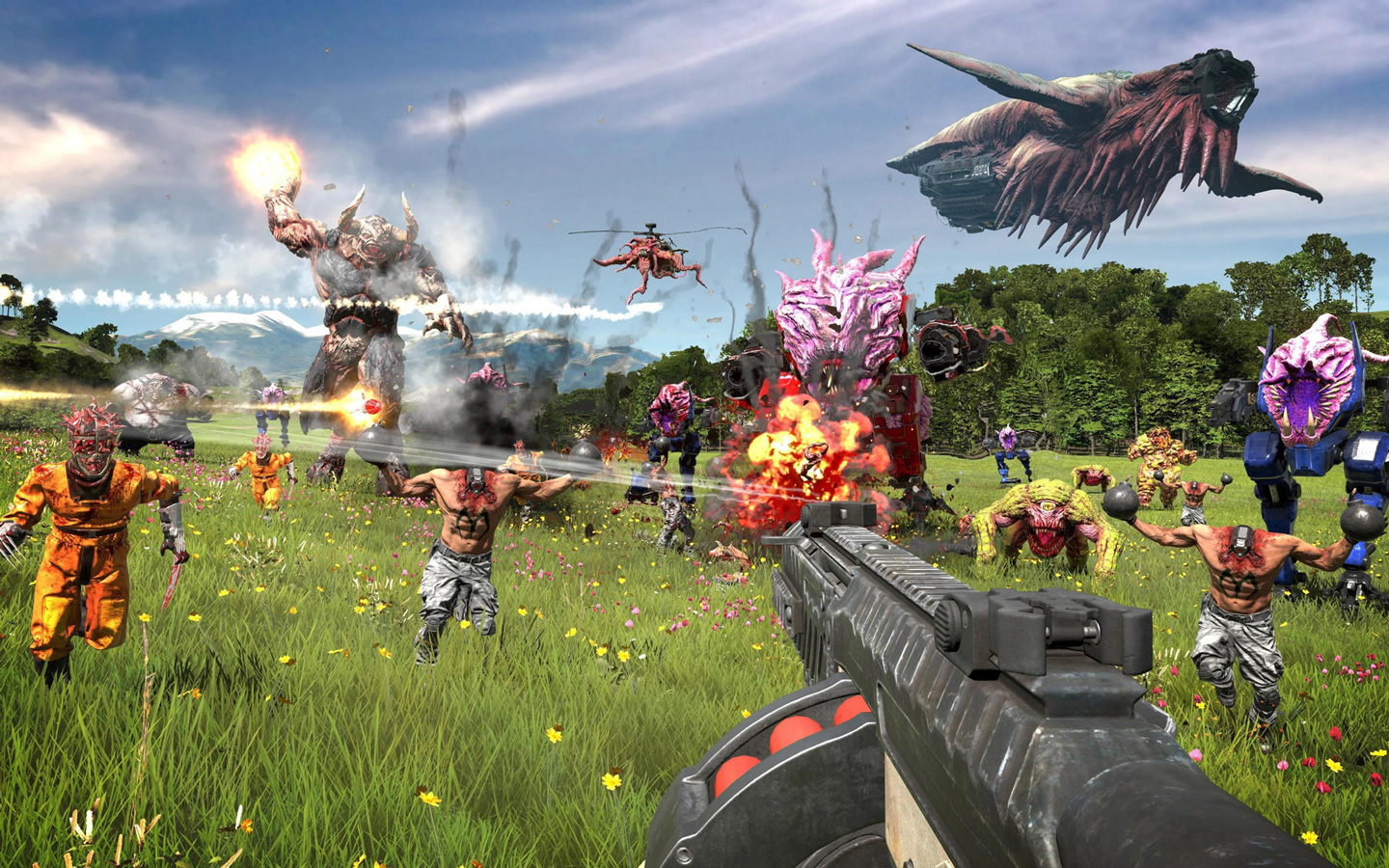 Free Serious Sam 4: Planet Badass Wallpaper in 1440x900