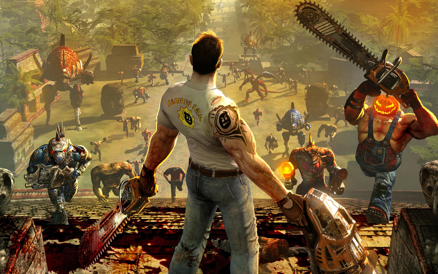 Serious Sam HD: The Second Encounter Wallpaper in 1440x900
