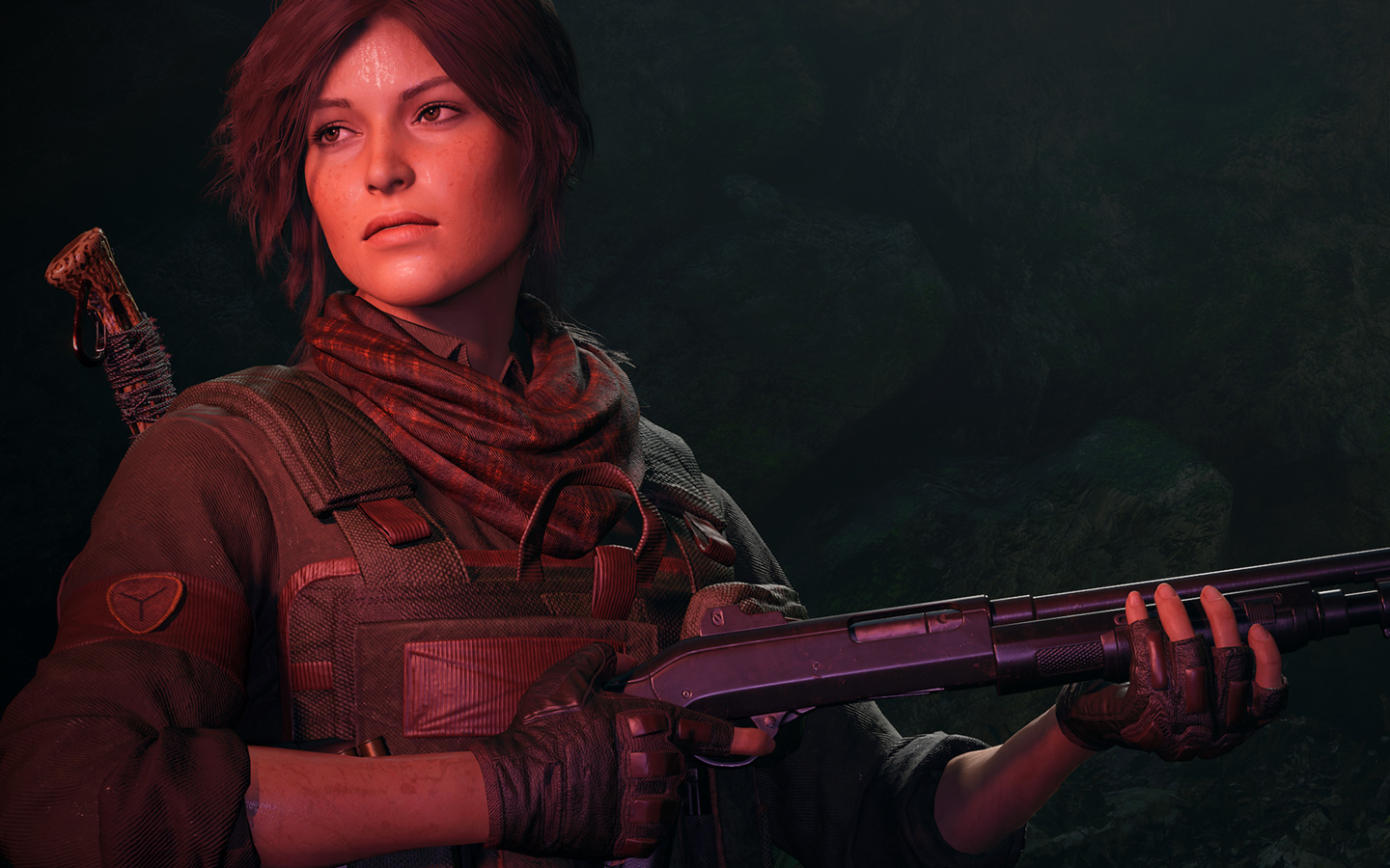 Shadow of the Tomb Raider Wallpaper in 1440x900