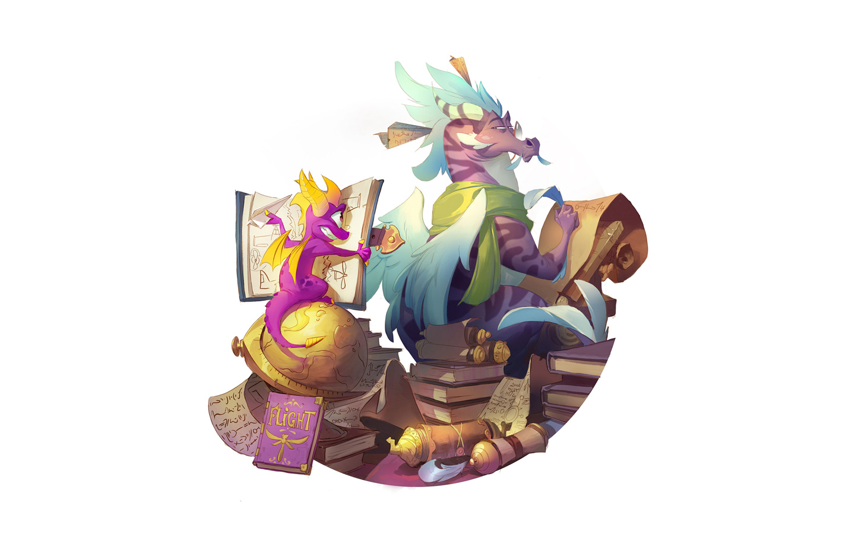 Free Spyro the Dragon Wallpaper in 1440x900