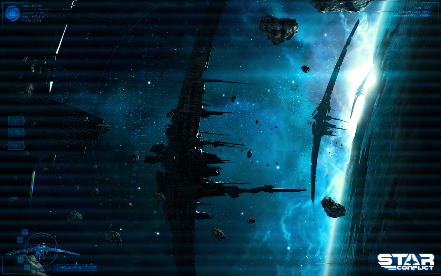 Free Star Conflict Wallpaper in 1440x900