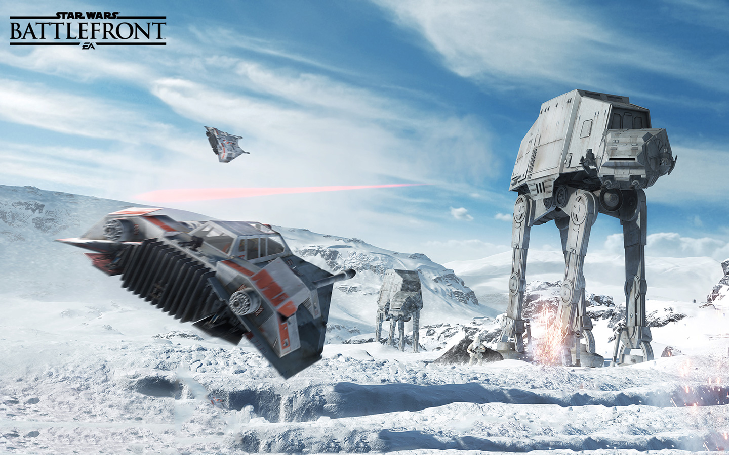 Free Star Wars: Battlefront Wallpaper in 1440x900