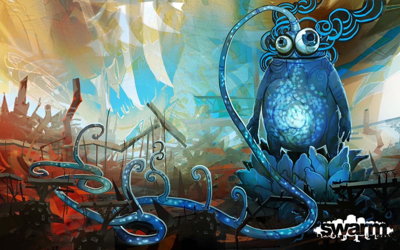 Swarm Wallpaper in 1440x900