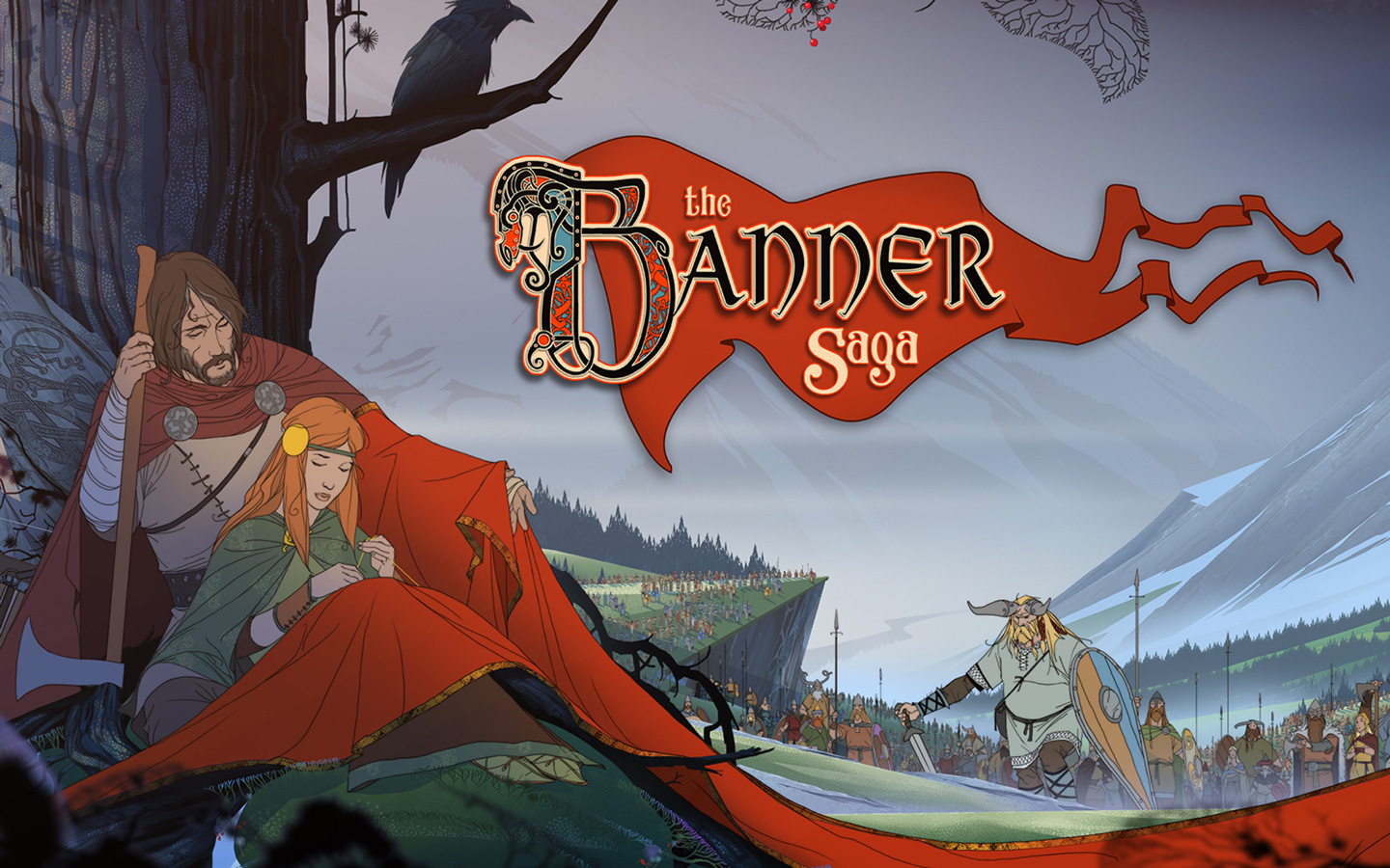 Free The Banner Saga Wallpaper in 1440x900