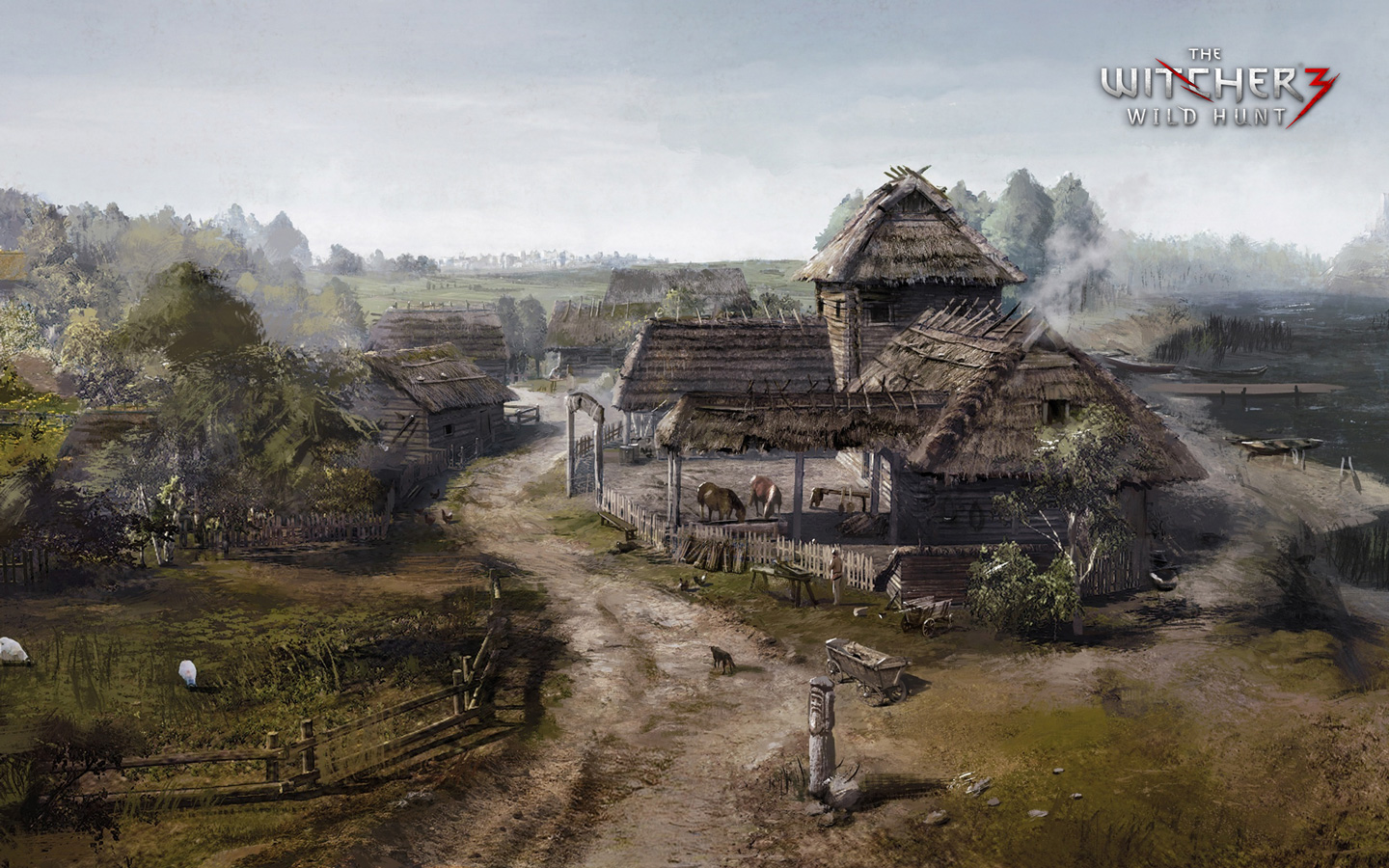 The Witcher 3 Wallpaper in 1440x900