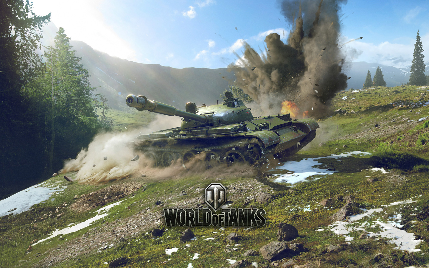 Free World of Tanks Wallpaper in 1440x900