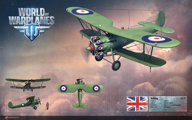 Free World of Warplanes Wallpaper in 1440x900