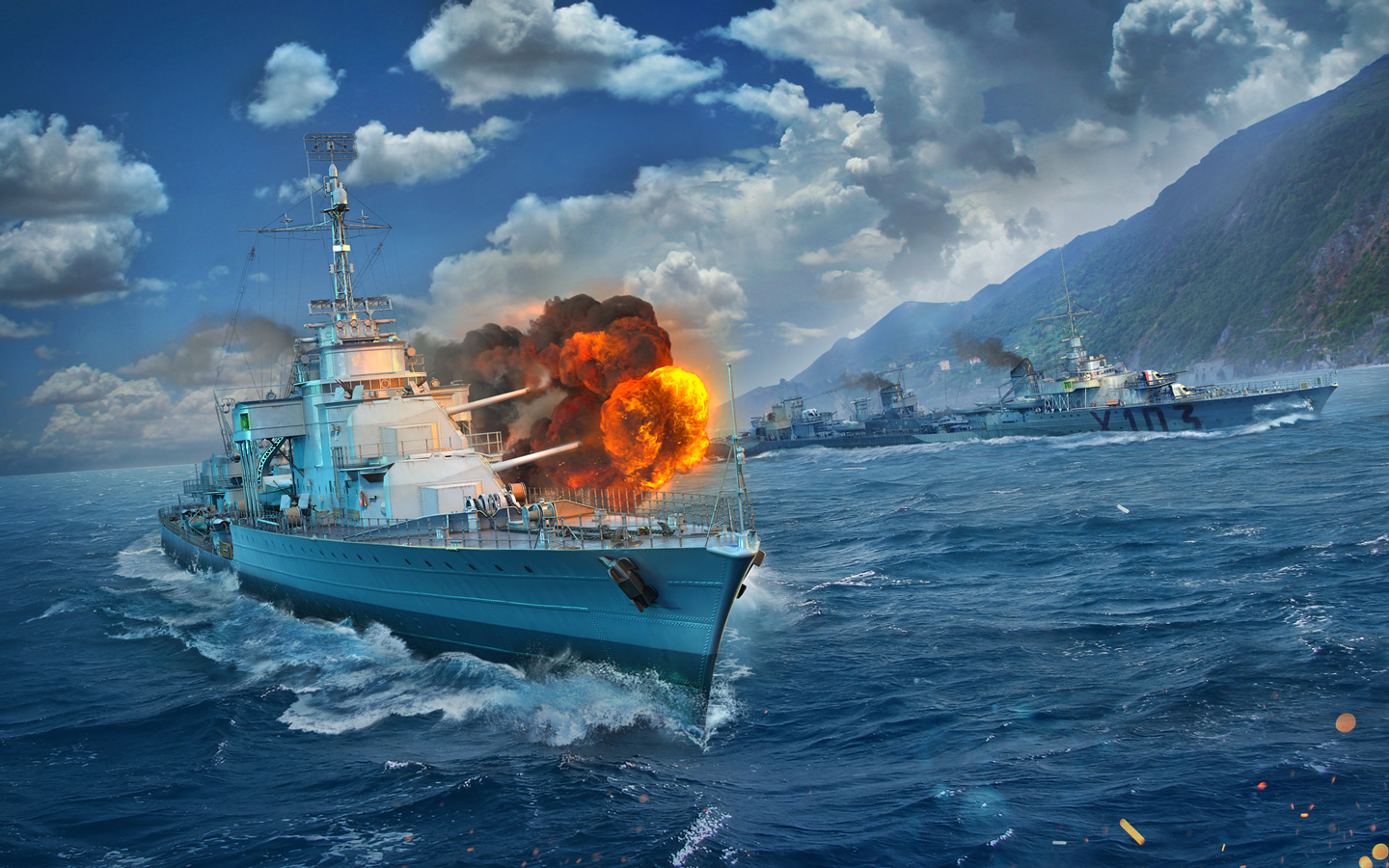 Free World of Warships Wallpaper in 1440x900