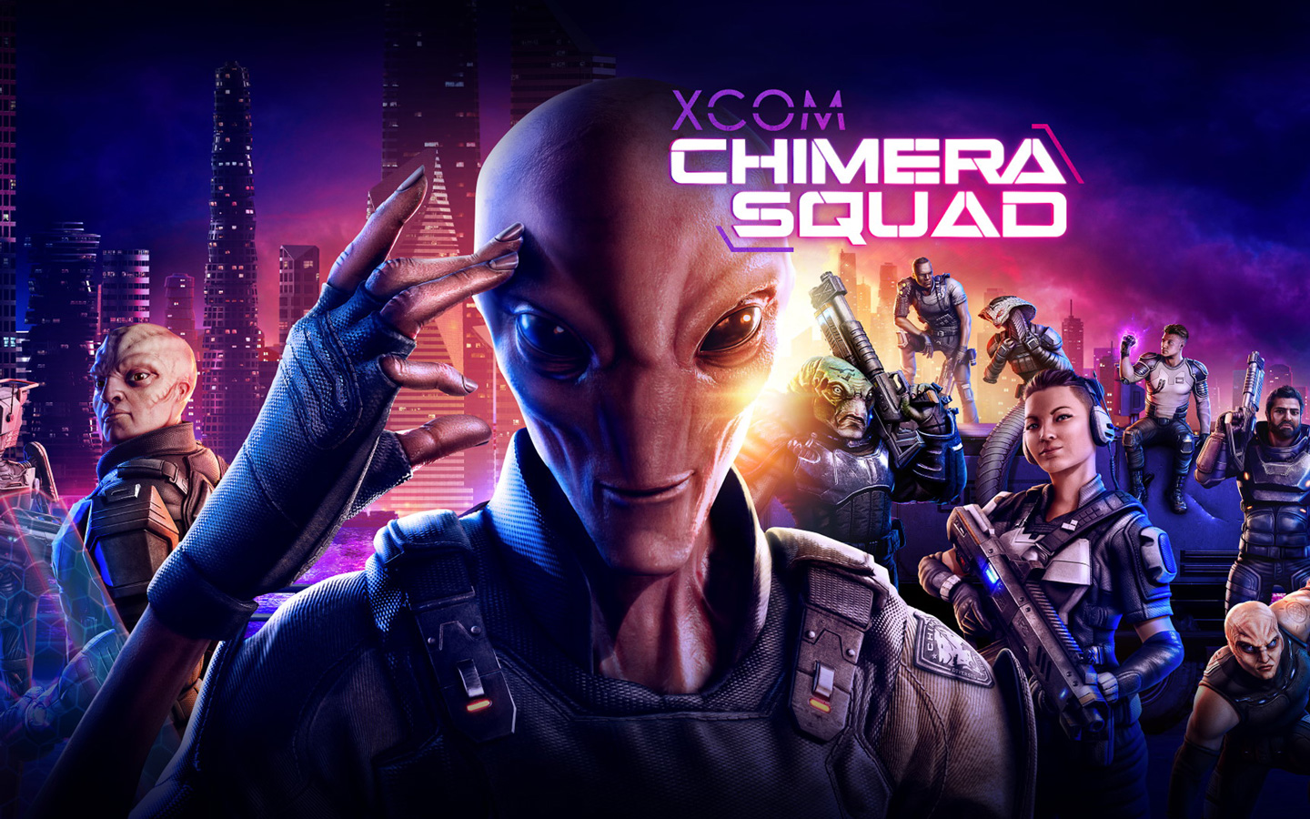 Free XCOM: Chimera Squad Wallpaper in 1440x900