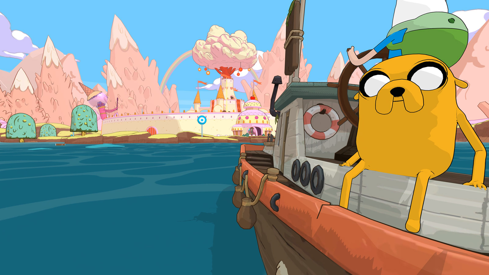 Adventure Time: Pirates of the Enchiridion Wallpaper in 1600x900