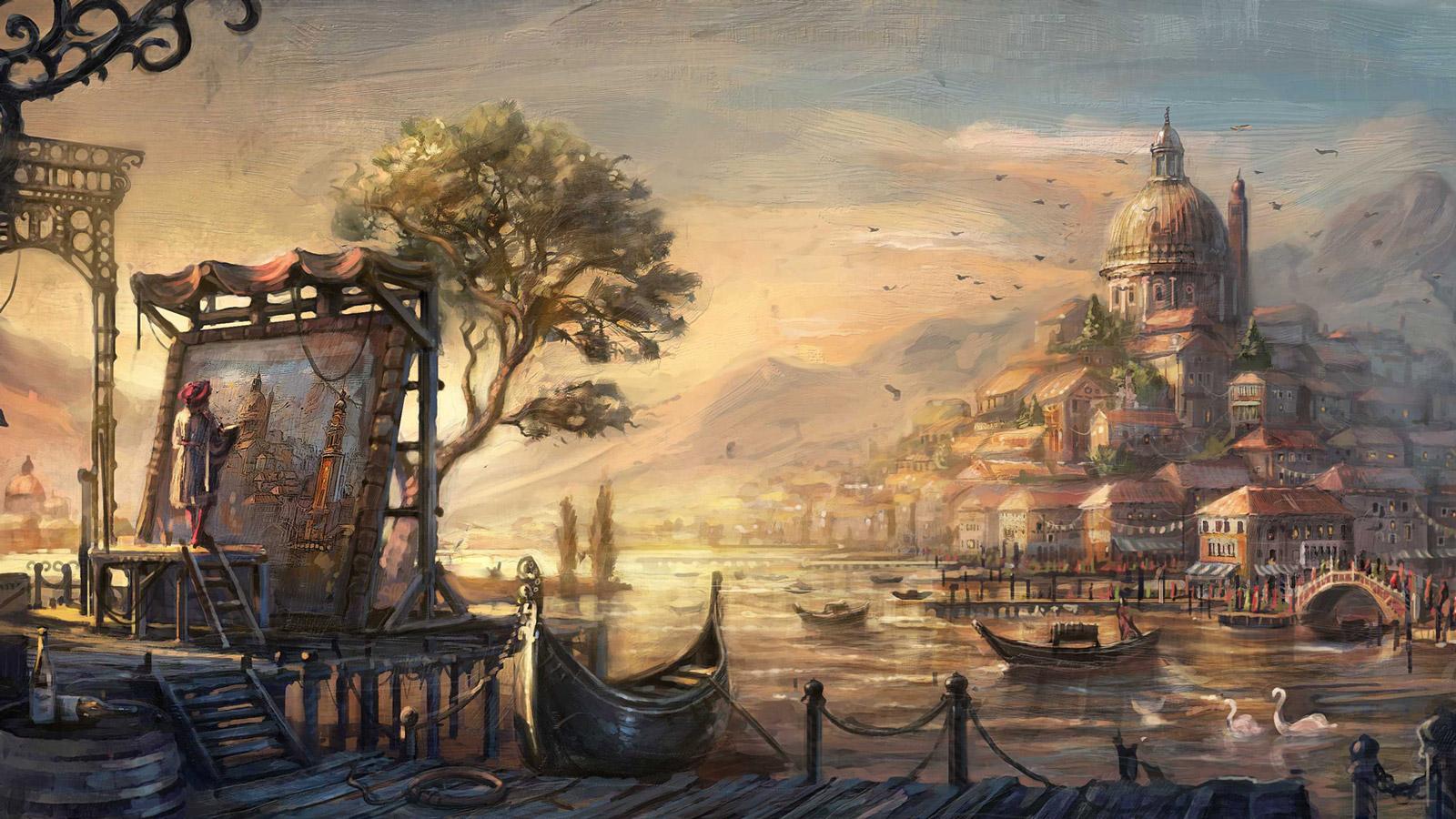 Free Anno 1404 Wallpaper in 1600x900