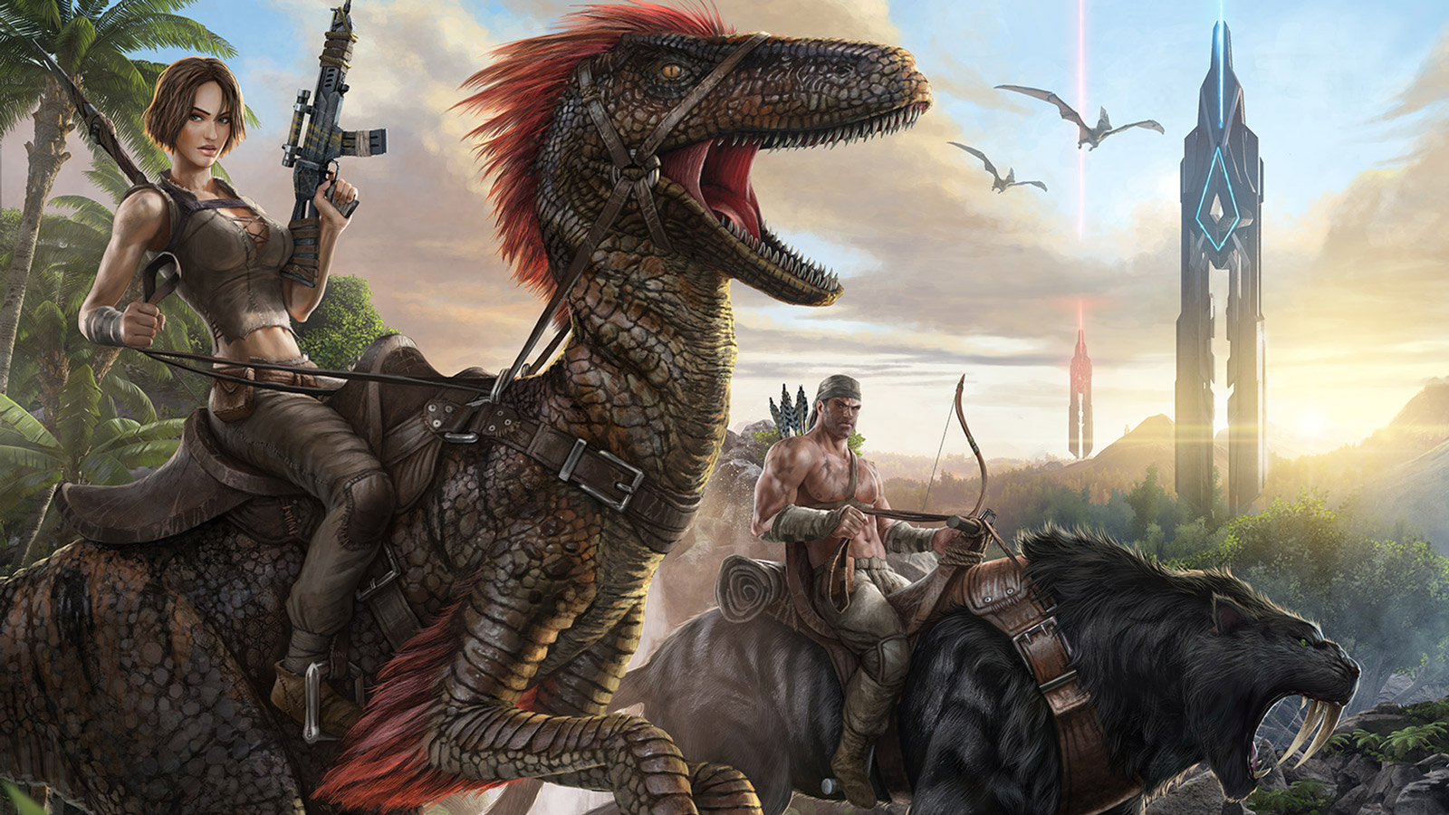 Free ARK: Survival Evolved Wallpaper in 1600x900