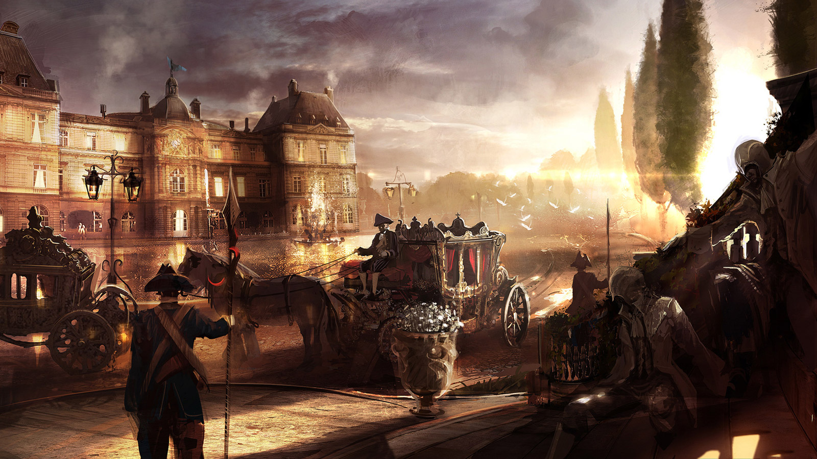 Free Assassin's Creed: Unity Wallpaper in 1600x900