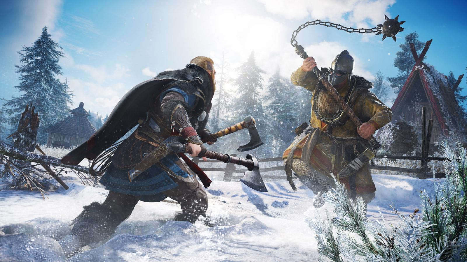 Assassin's Creed Valhalla Wallpaper in 1600x900