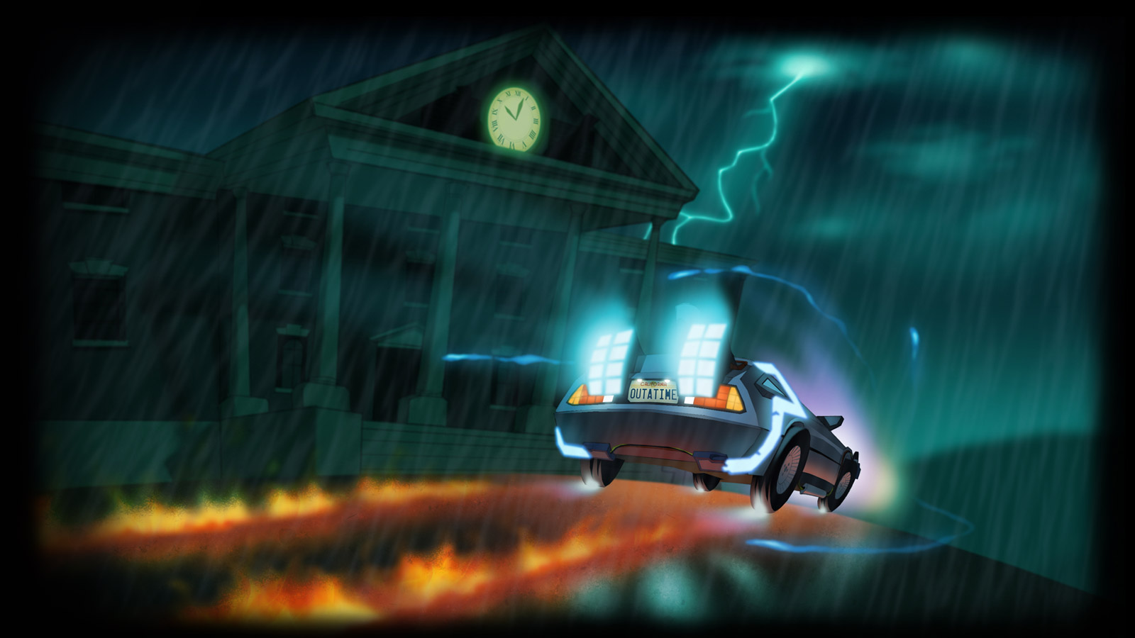 Free Back to the Future: The Game Wallpaper in 1600x900