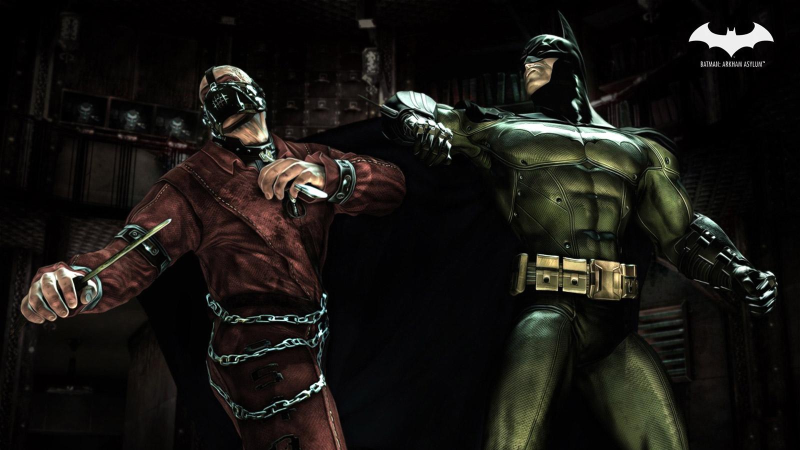 Batman: Arkham Asylum Wallpaper in 1600x900