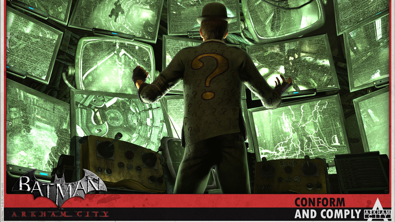 Free Batman: Arkham City Wallpaper in 1600x900