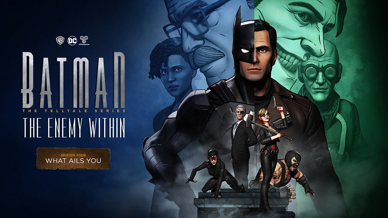 Free Batman: The Enemy Within - The Telltale Series Wallpaper in 1600x900