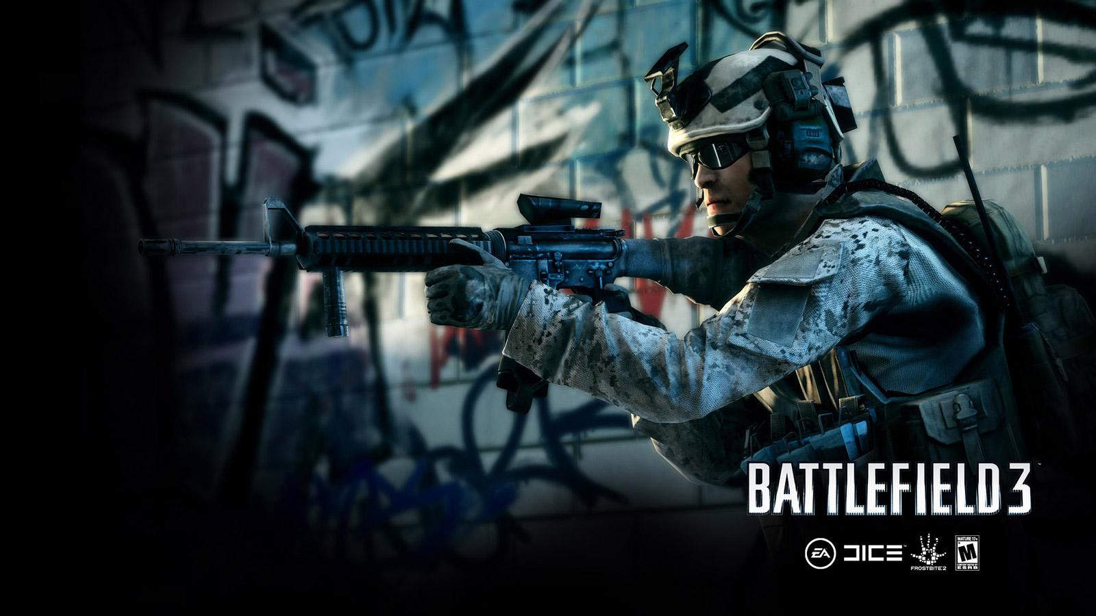 Free Battlefield 3 Wallpaper in 1600x900