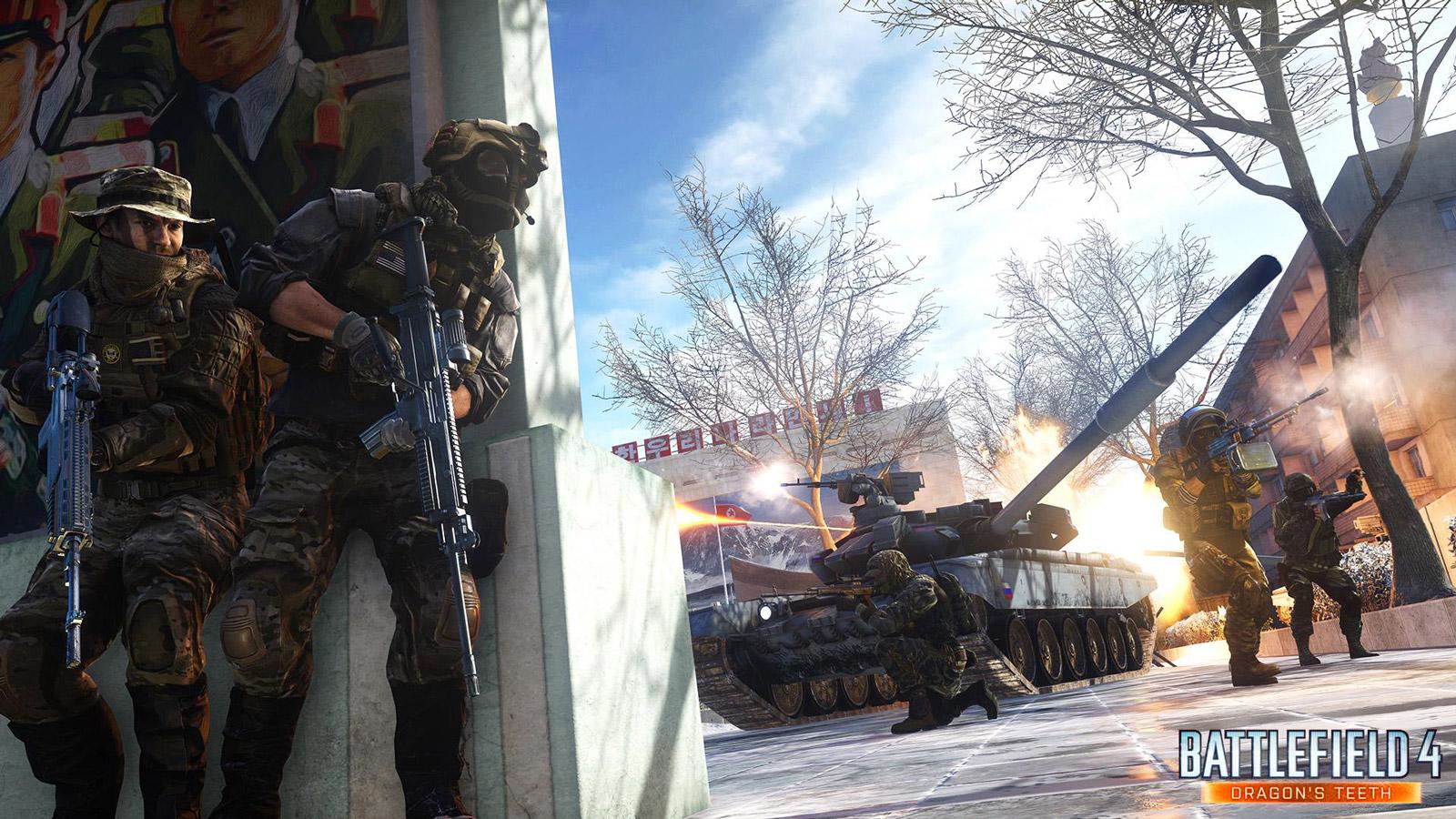 Battlefield 4 Wallpaper in 1600x900
