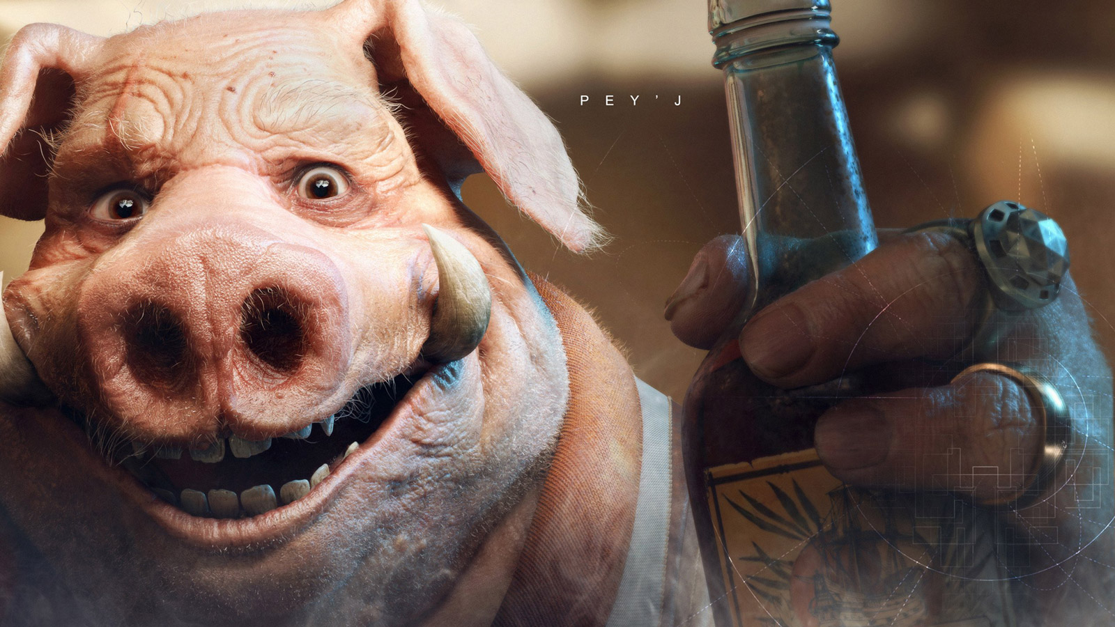 Free Beyond Good and Evil 2 Wallpaper in 1600x900