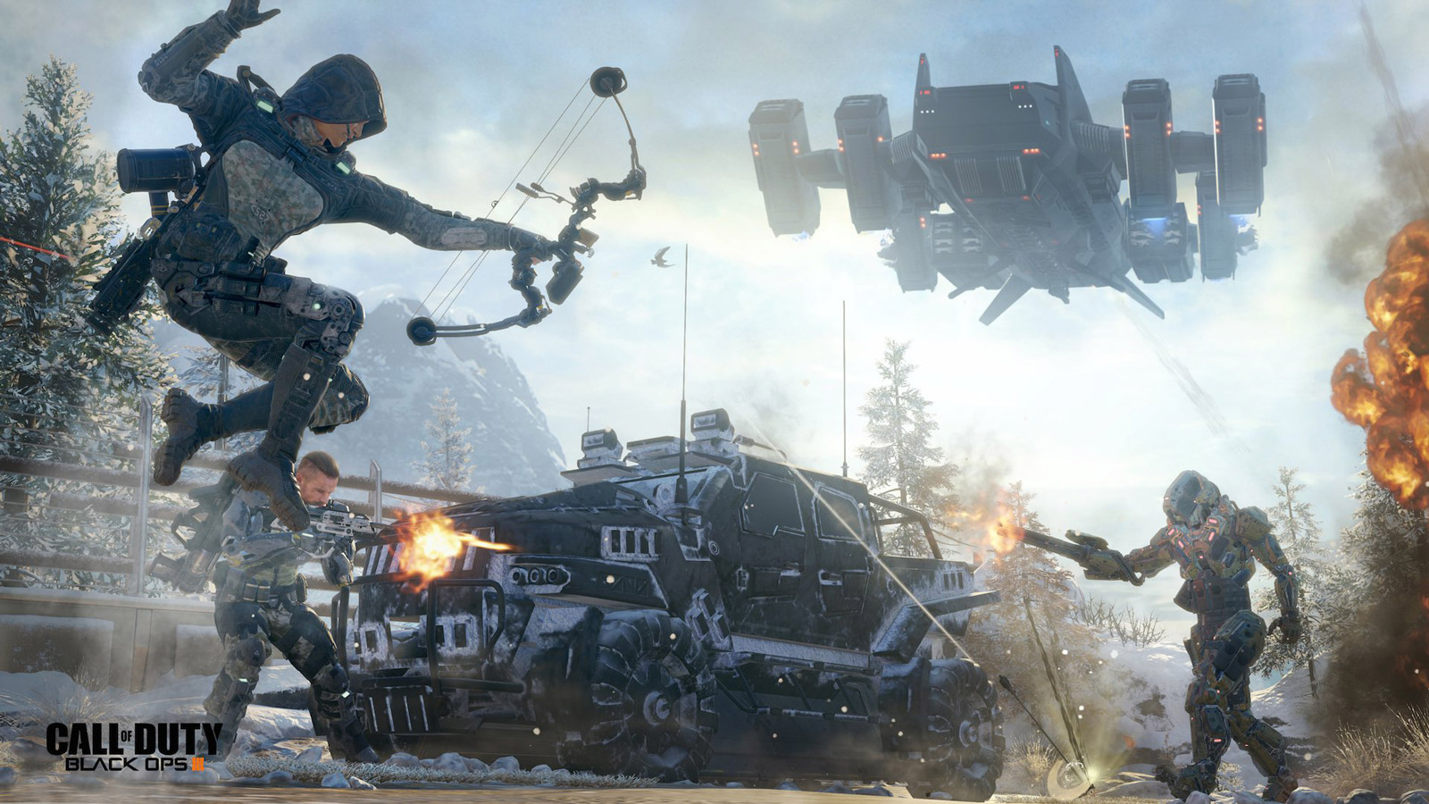 Free Call of Duty: Black Ops III Wallpaper in 1600x900