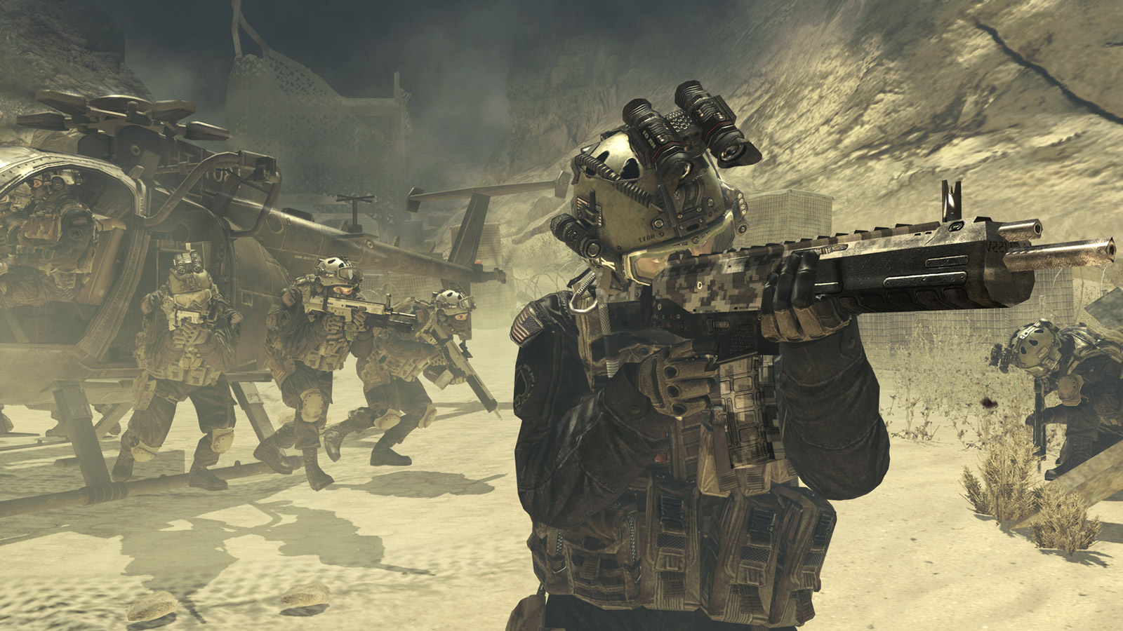 Call of Duty: Modern Warfare 2 Wallpaper in 1600x900