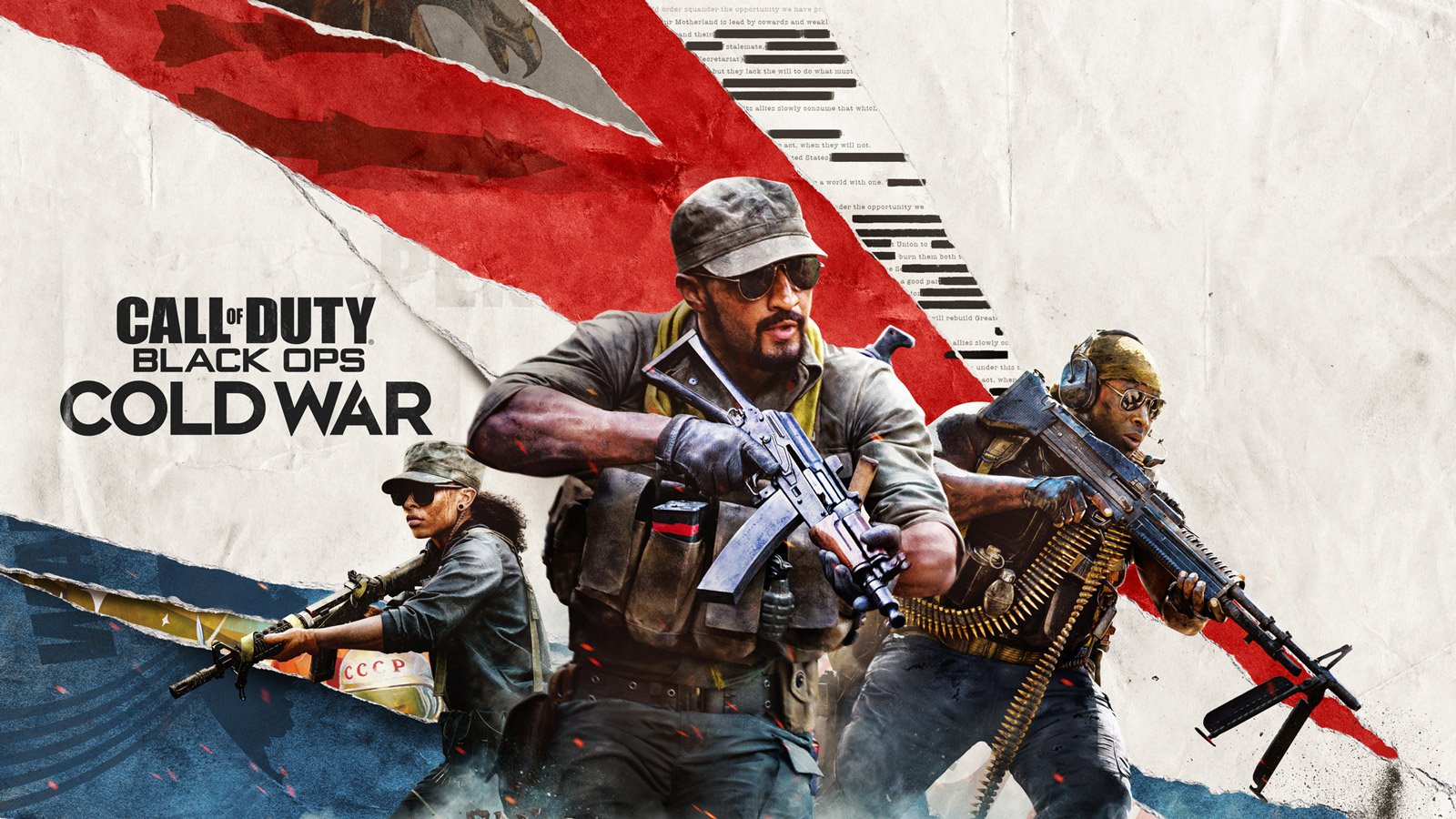 Call of Duty: Black Ops Cold War Wallpaper in 1600x900