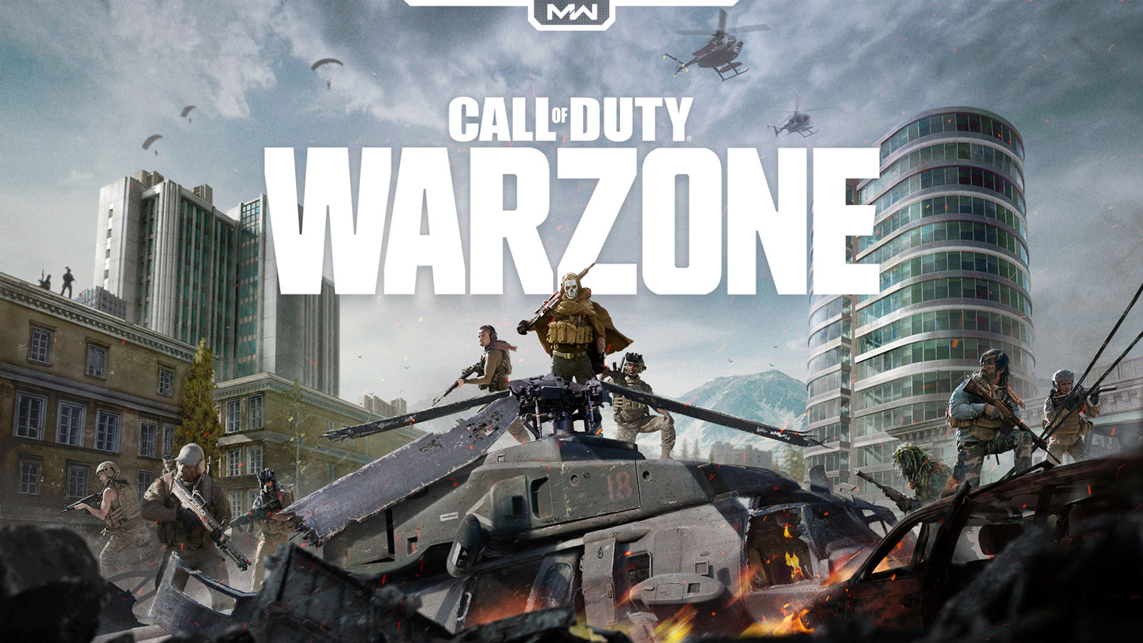 Free Call of Duty: Warzone Wallpaper in 1600x900