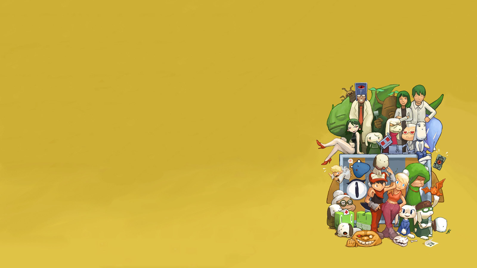 Free Cave Story Wallpaper in 1600x900