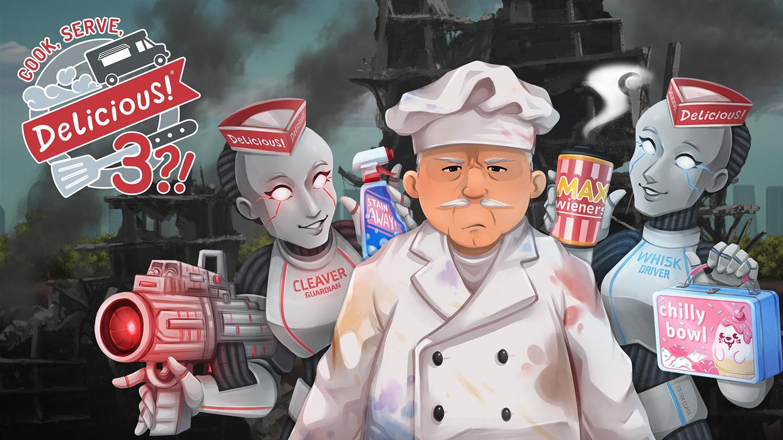 Cook, Serve, Delicious! 3?! Wallpaper in 1600x900