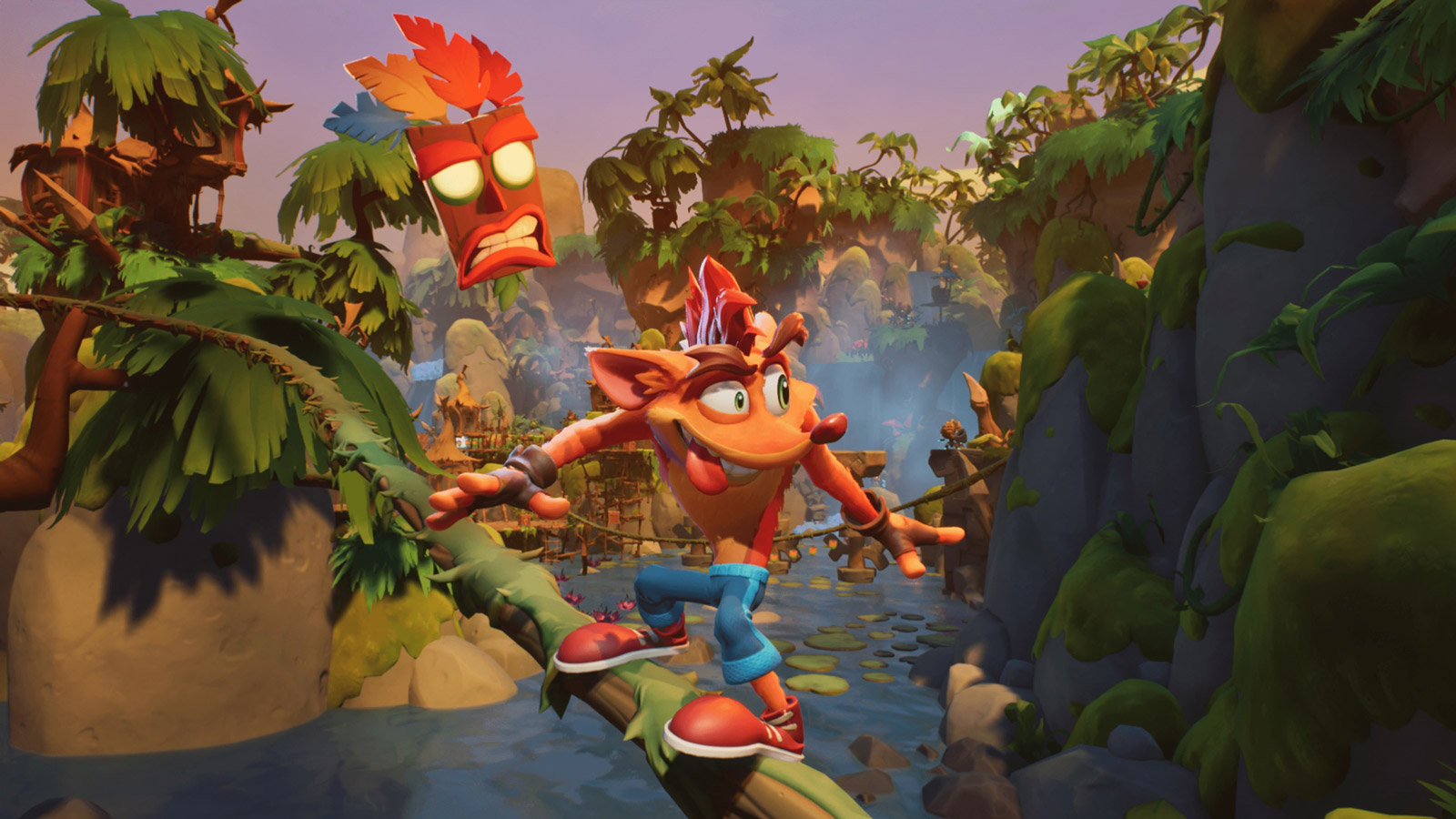 Crash Bandicoot 4: It's About Time Wallpaper in 1600x900