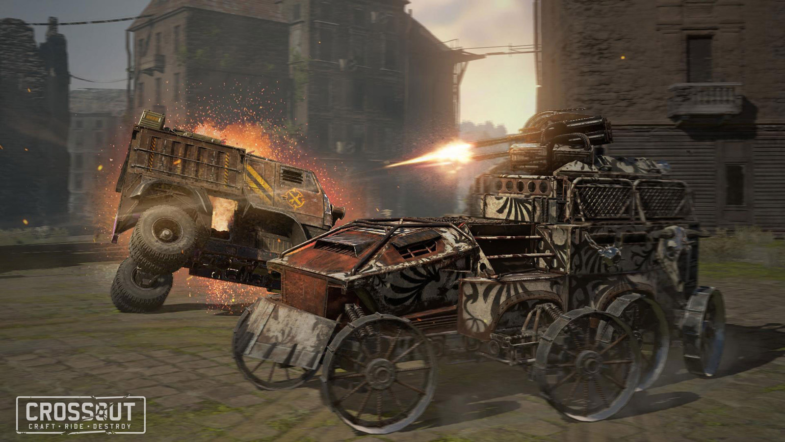 Crossout Wallpaper in 1600x900