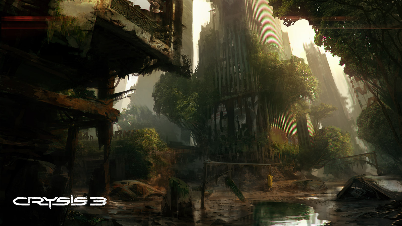 Crysis 3 Wallpaper in 1600x900