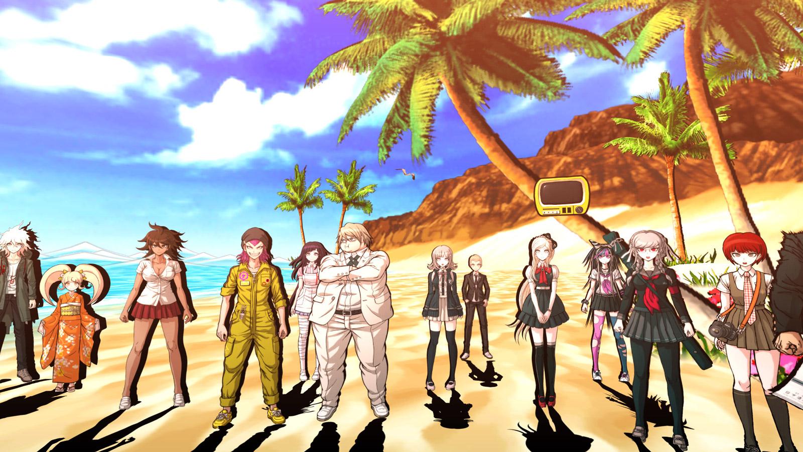 Free Danganronpa 2: Goodbye Despair Wallpaper in 1600x900