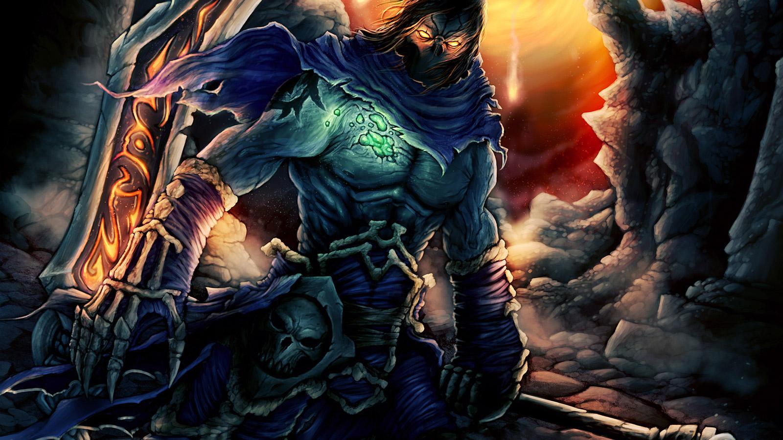 Free Darksiders II Wallpaper in 1600x900