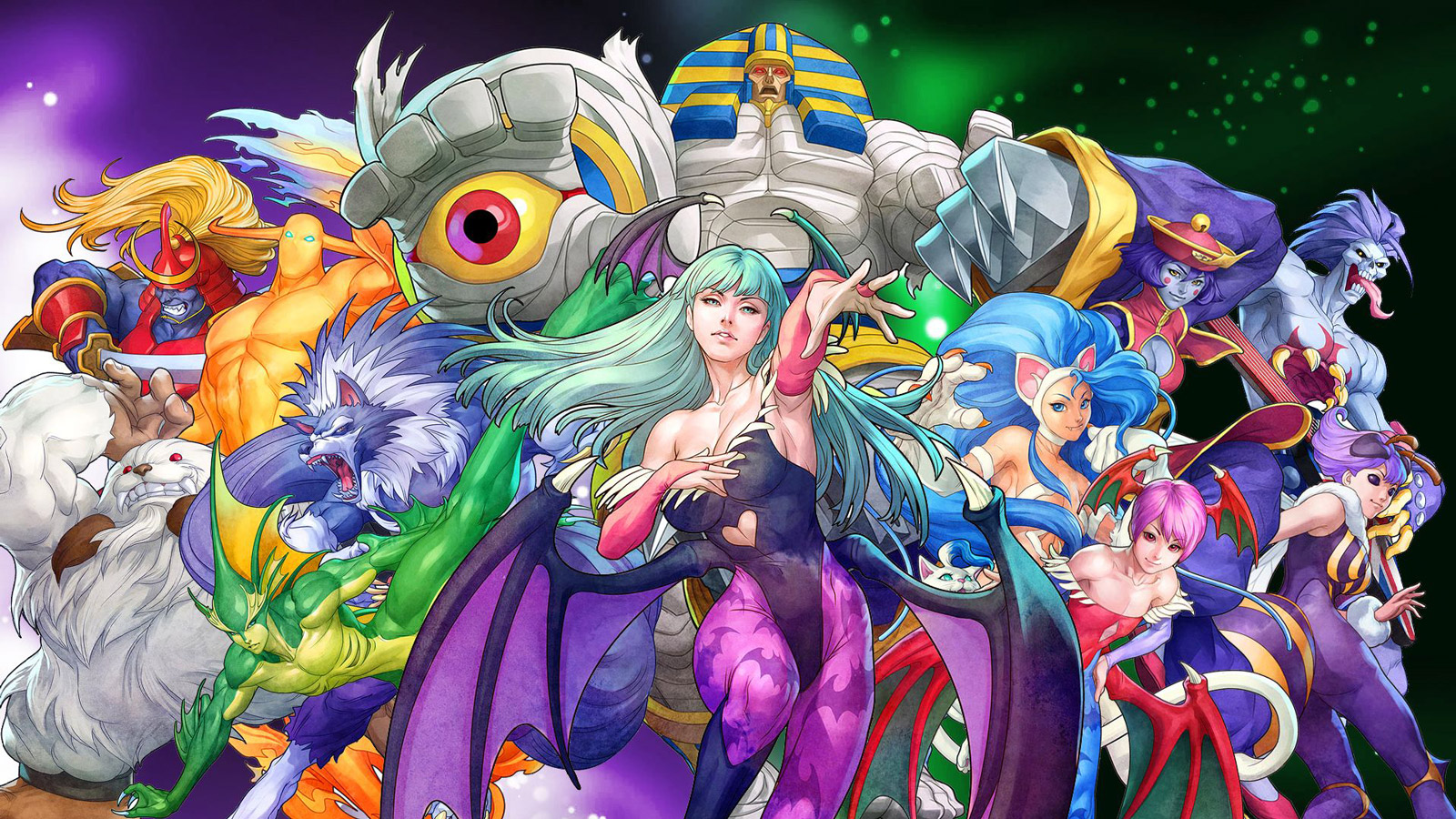 Darkstalkers Resurrection Wallpaper in 1600x900