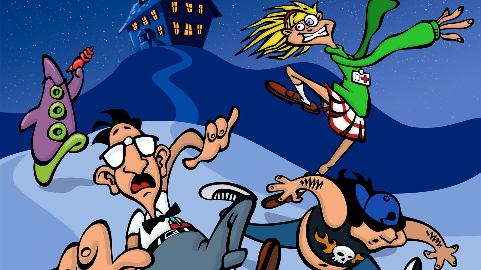 Free Day of the Tentacle Wallpaper in 1600x900