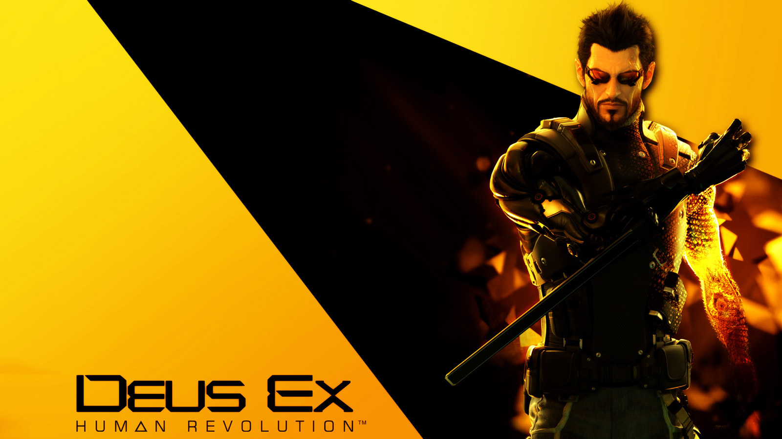 Deus Ex: Human Revolution Wallpaper in 1600x900