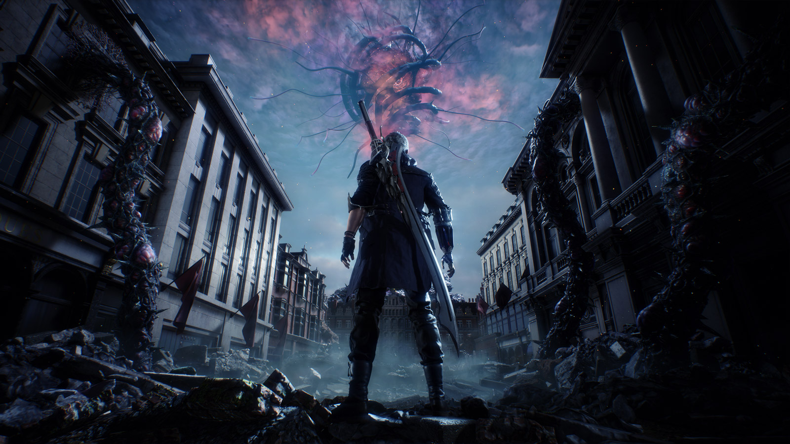 Free Devil May Cry 5 Wallpaper in 1600x900