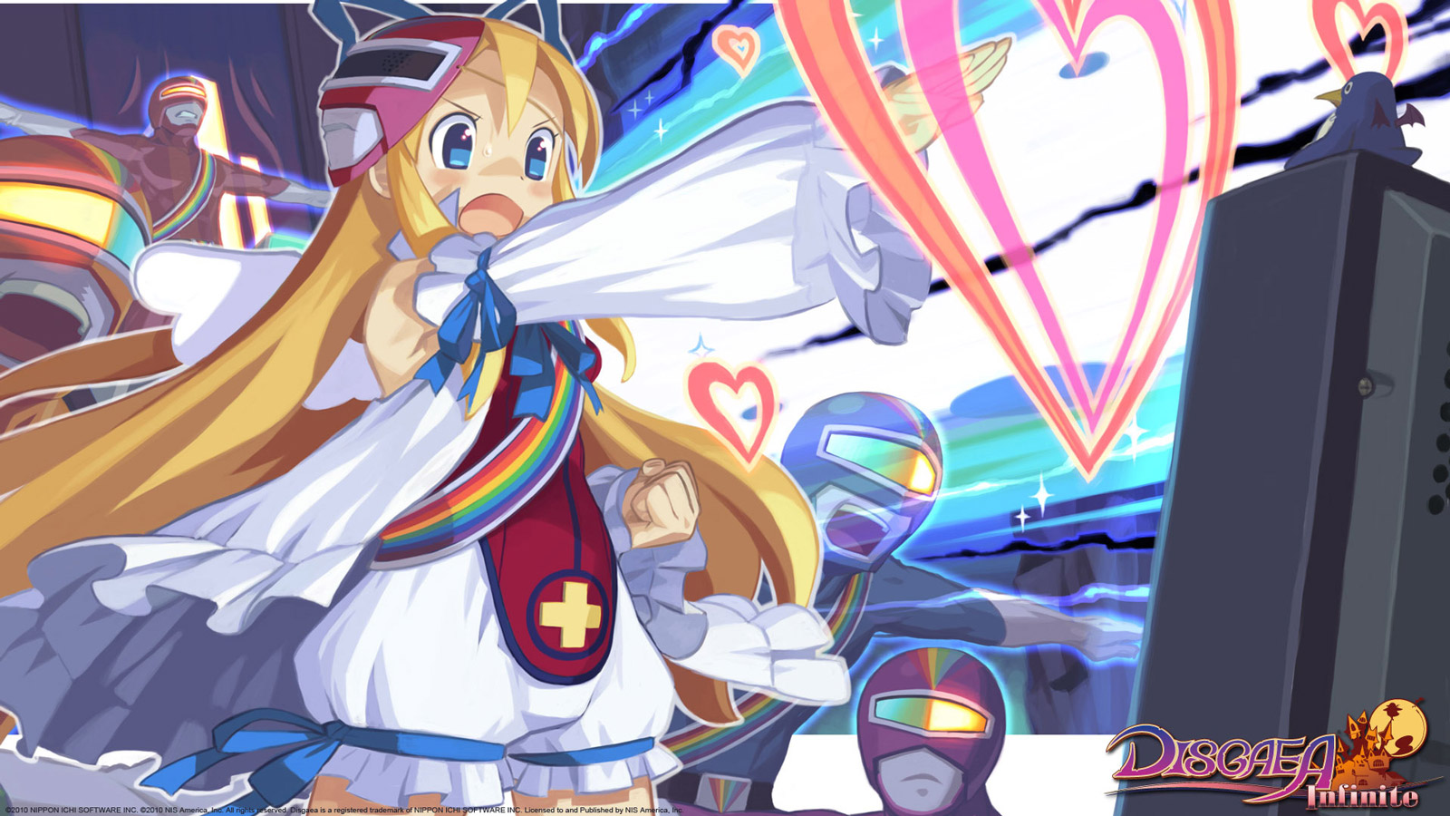 Free Disgaea Infinite Wallpaper in 1600x900