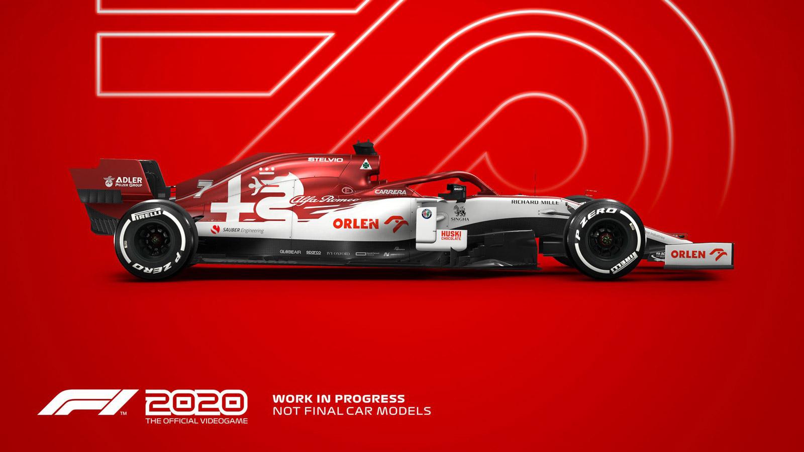 Free F1 2020 Wallpaper in 1600x900