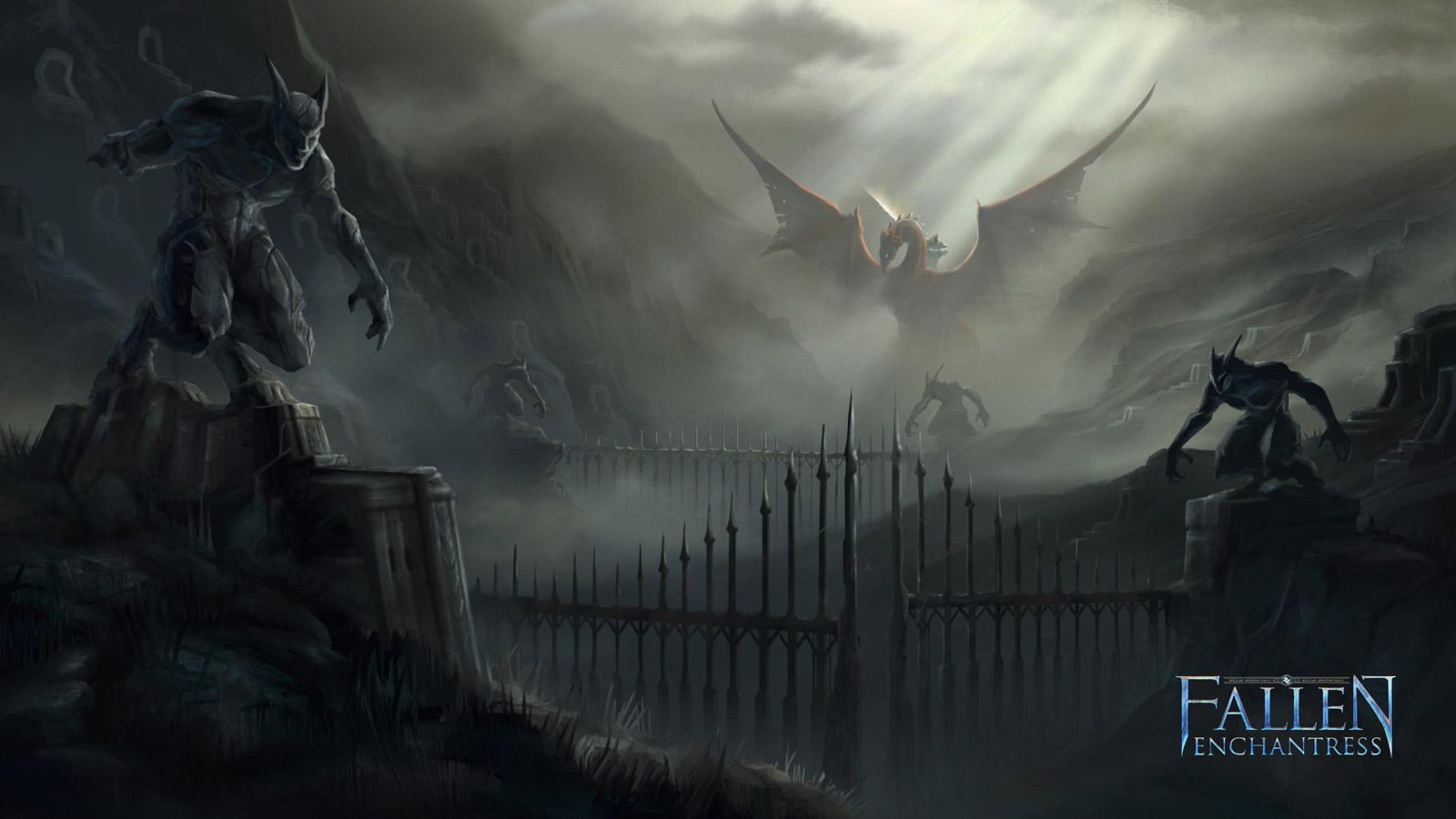 Free Fallen Enchantress Wallpaper in 1600x900