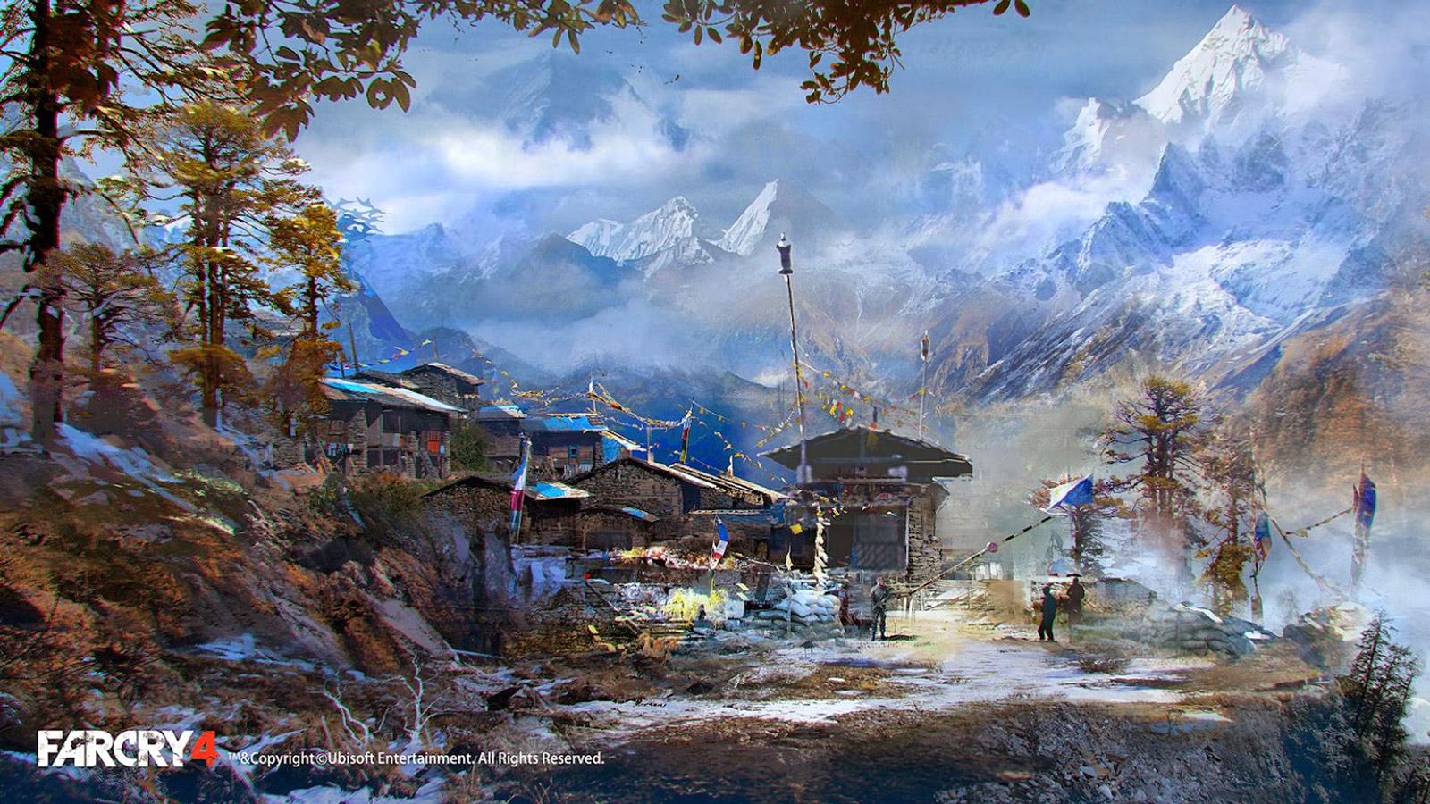 Far Cry 4 Wallpaper in 1600x900
