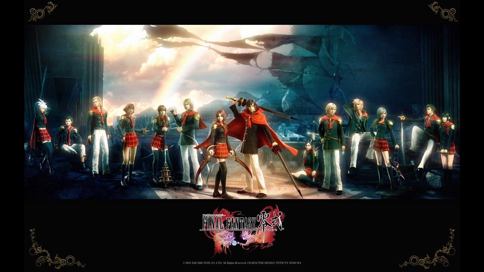 Free Final Fantasy Type-0 Wallpaper in 1600x900