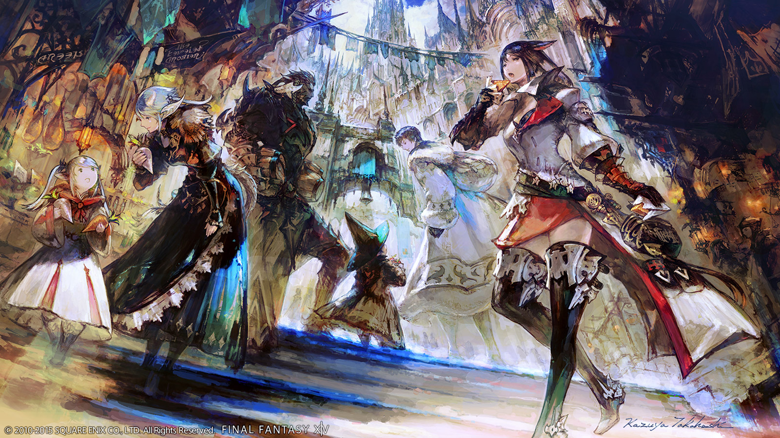 Free Final Fantasy XIV Wallpaper in 1600x900