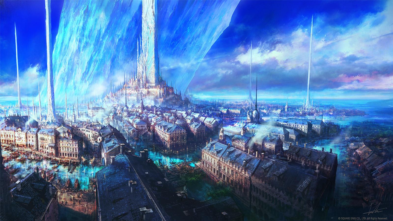 Free Final Fantasy XVI Wallpaper in 1600x900