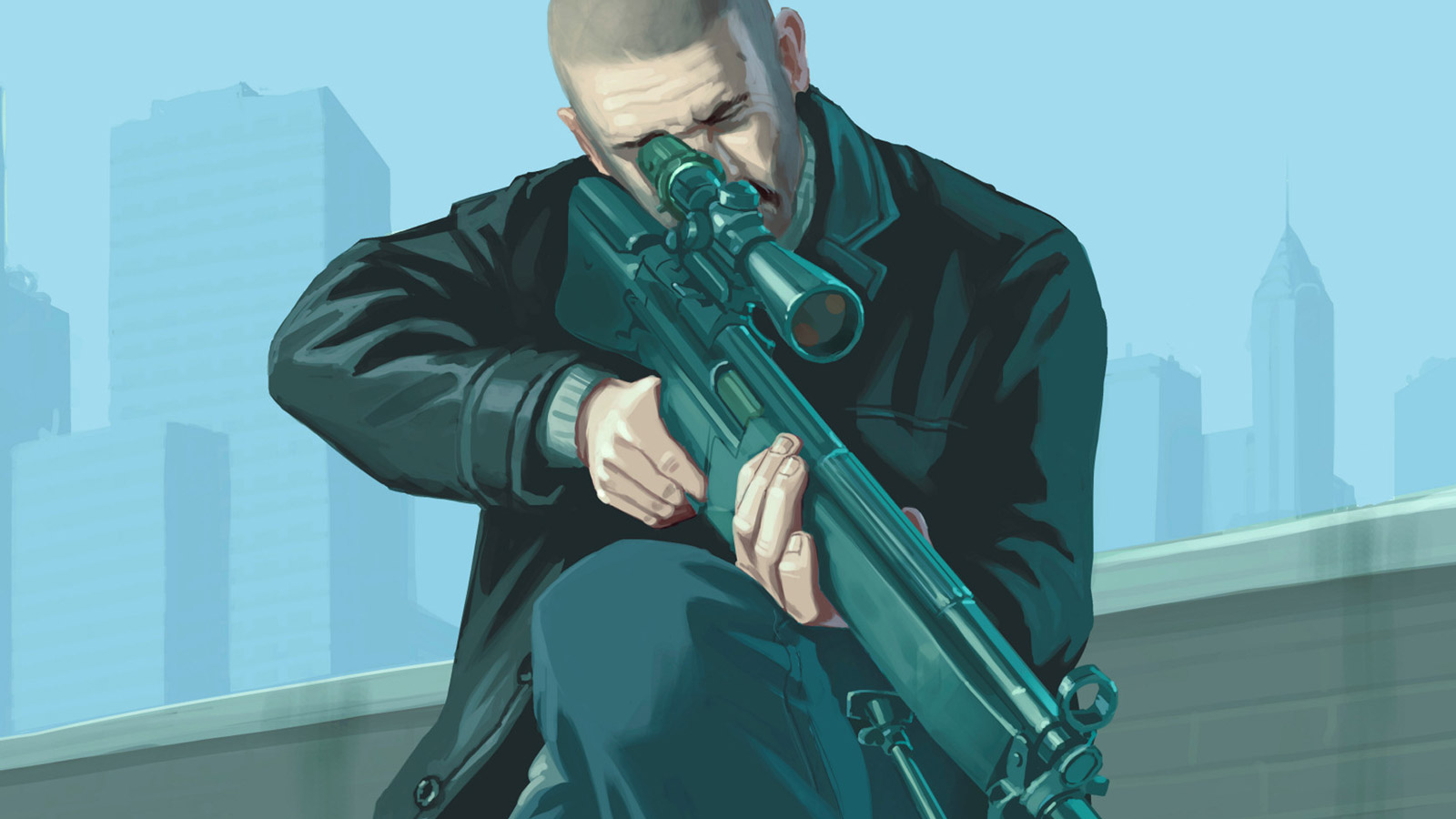Free Grand Theft Auto IV Wallpaper in 1600x900